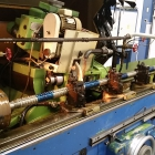 ball screw shaft regrind set-up