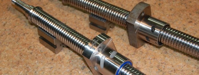 new left hand ballscrew assembly