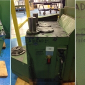 Dorries Scharmann DST milling spindle repair